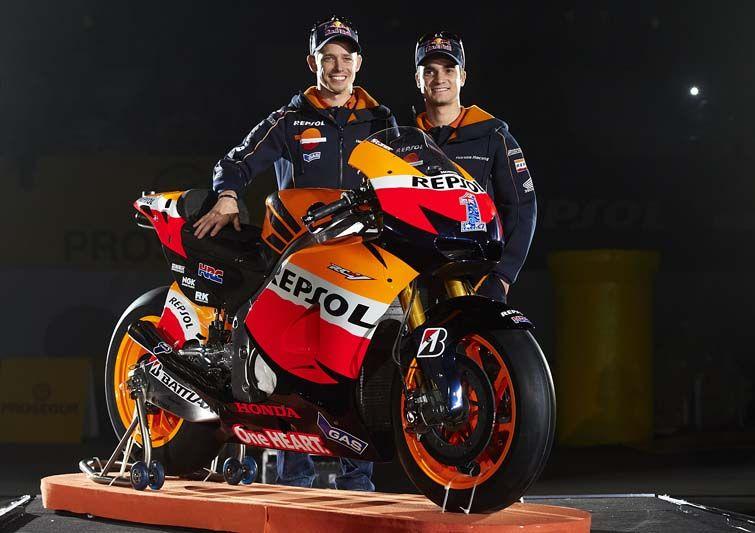 Presentación del equipo Repsol Honda de Motogp   Revista