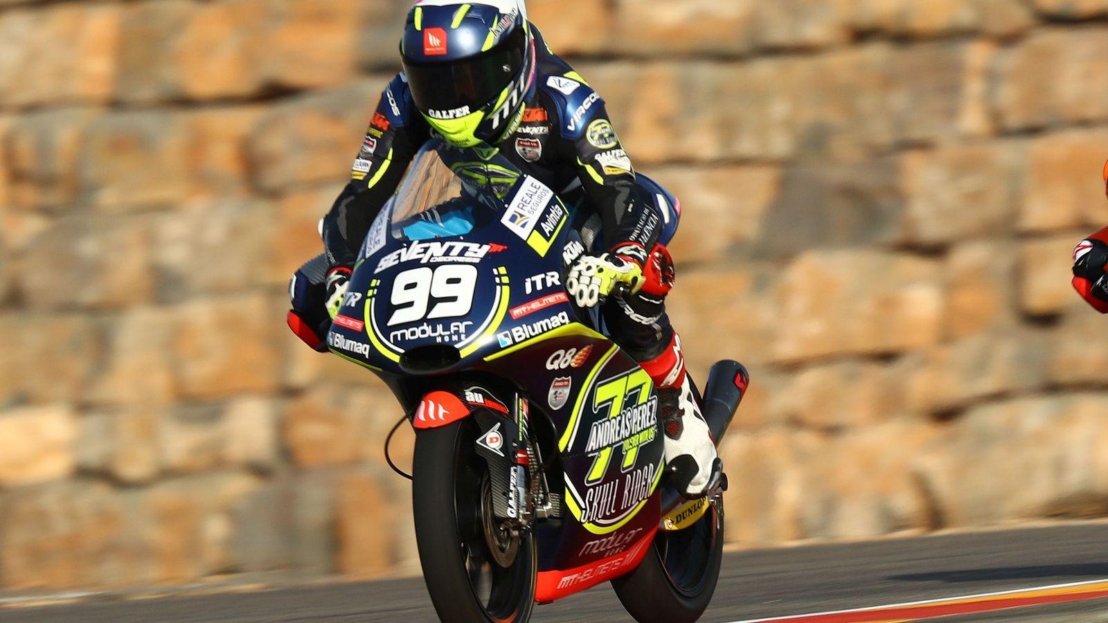 Carlos Tatay dará el salto al Mundial de Moto3 en 2020