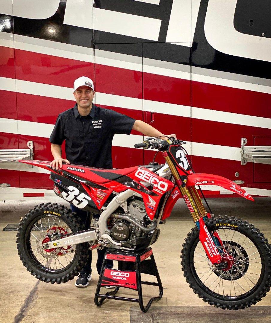 Ryan Dungey, copropietario del Team Honda Geico