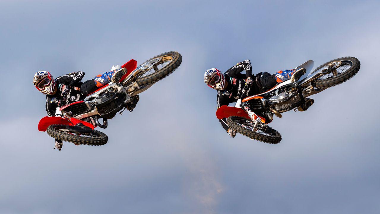 Comparativa Motocross 2020 Honda Crf 450 Y Ktm 450 Sxf