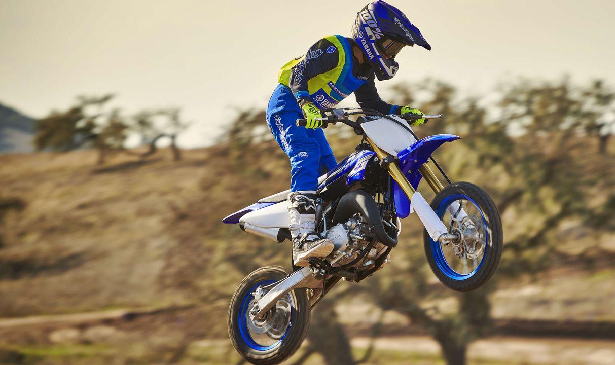 YAMAHA YZ 65 2019 65 cm3 | moto cross | 10 hr | Bleu