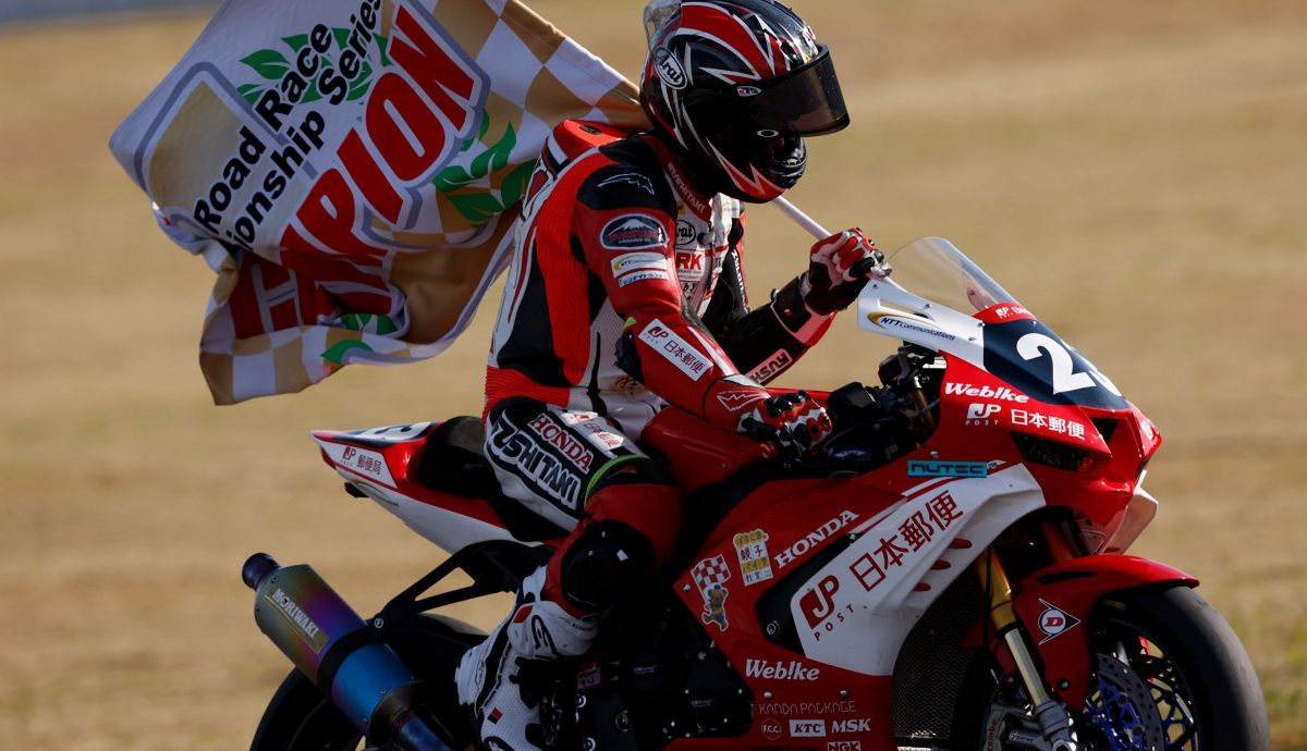 Yuki Takahashi campeón del All Japan ST1000 2020