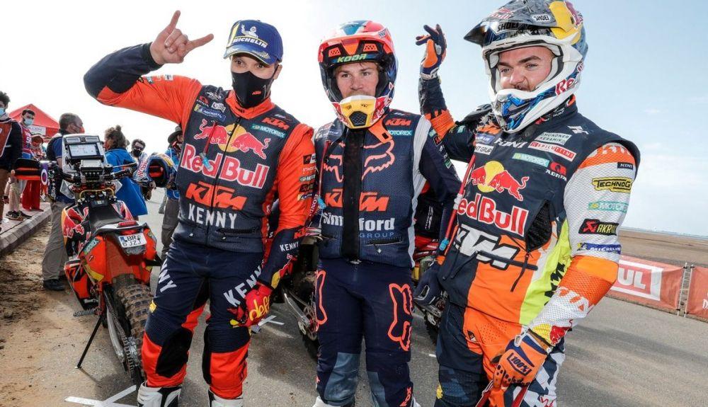KTM ha logrado otro podio con Sam Sunderland con los oficiales Daniel Sanders y Matthias Walkner también en el top 10 del Dakar 2021