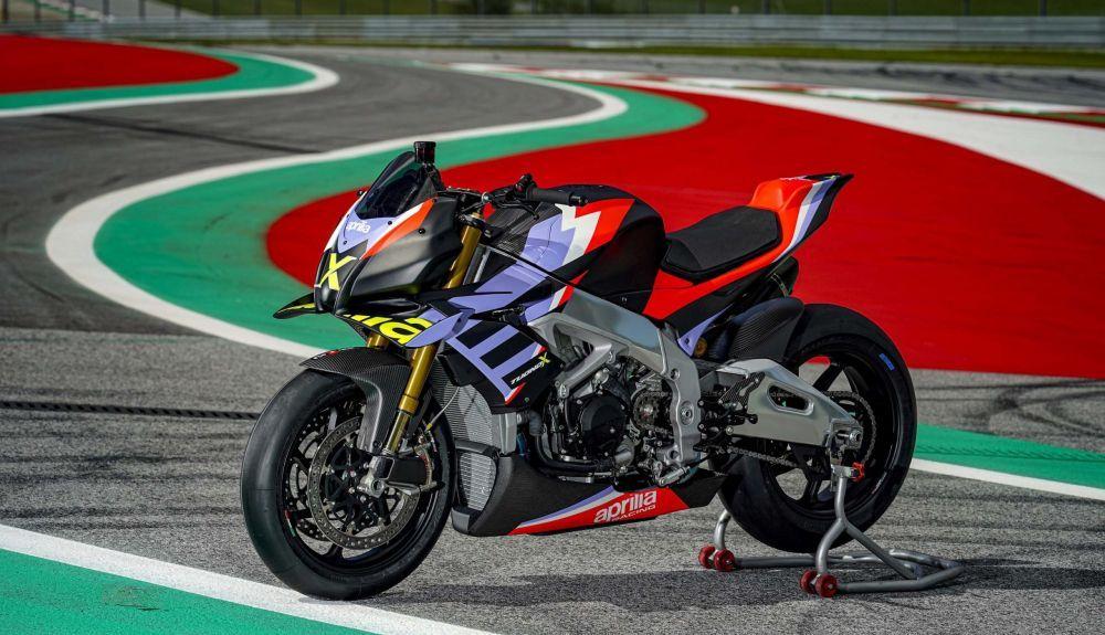 Aprilia Tuono V4: el basculante inspirado en MotoGP y las