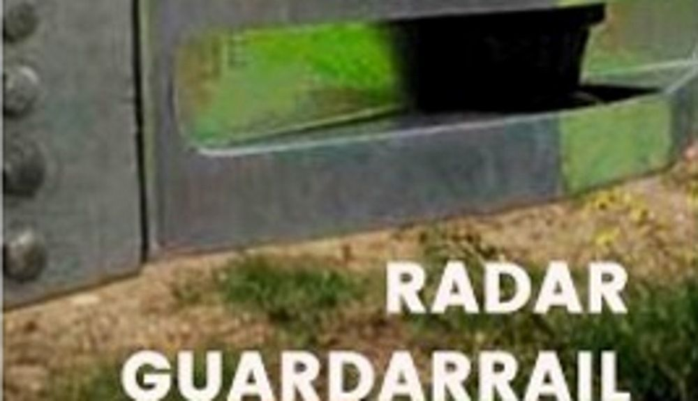 Este radar en guardarraíl es falso