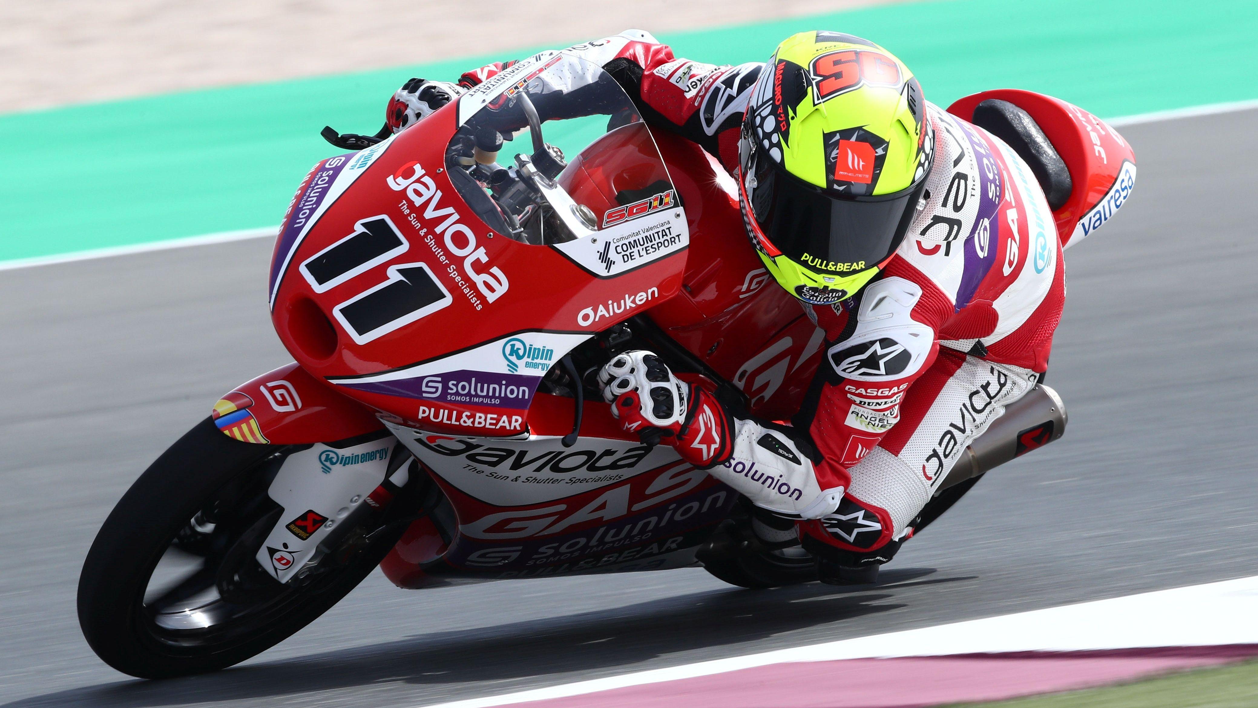 Sergio García, Moto3 2021