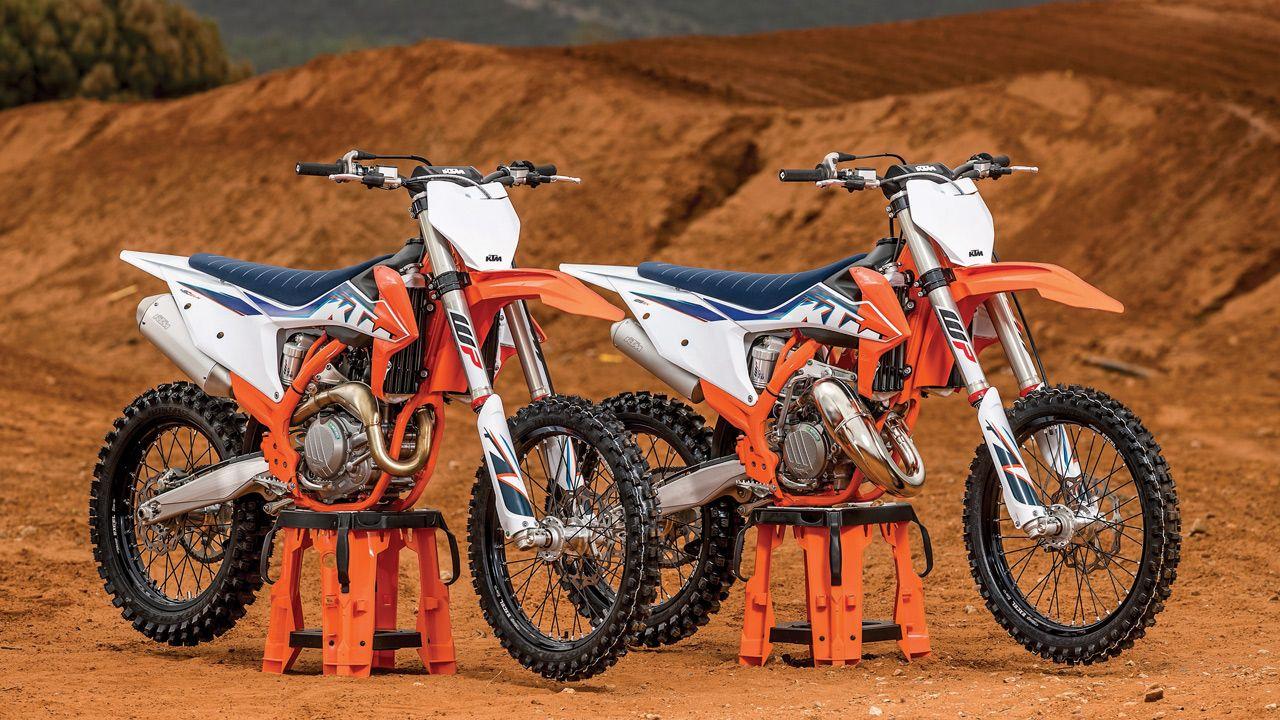 CAE LA VALLA DE SALIDA: LA NUEVA GAMA KTM MOTOCROSS 2022