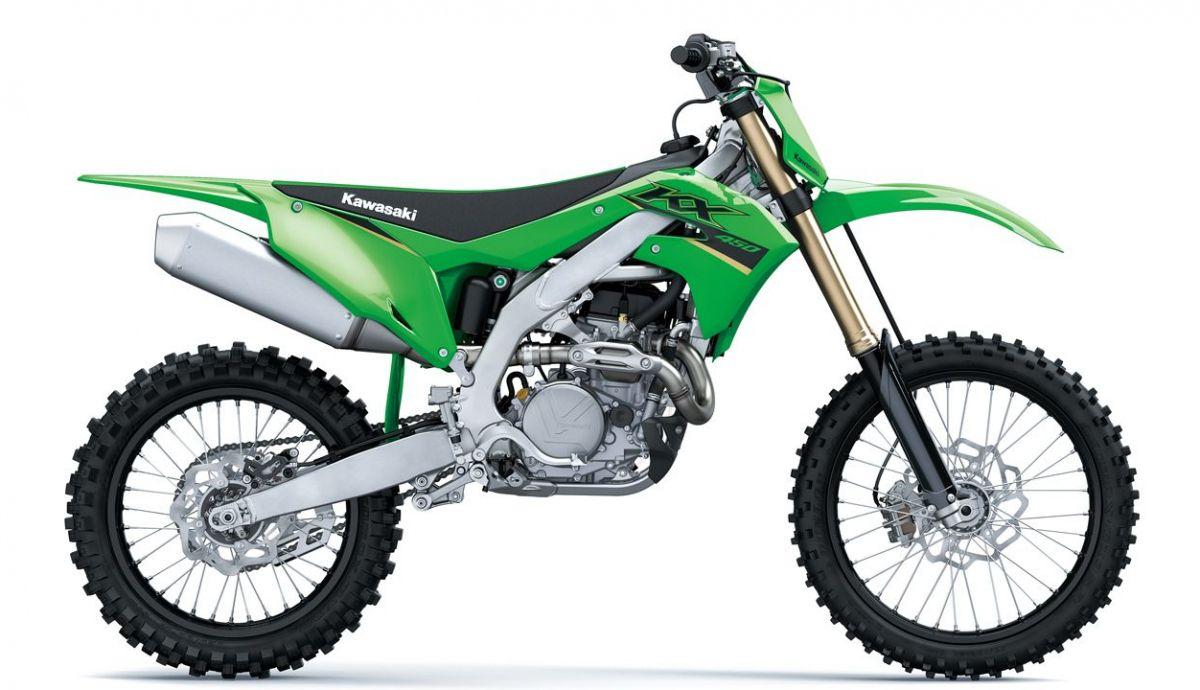 Kawasaki KX 450 y 250 2022, nuevos gráficos