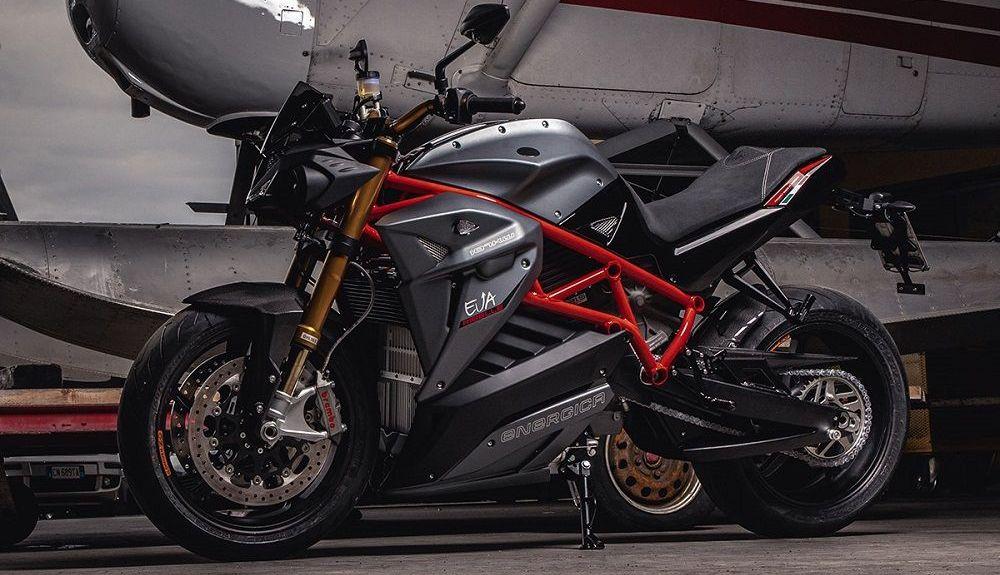 Moto Energica Eva. Fuente: Energica
