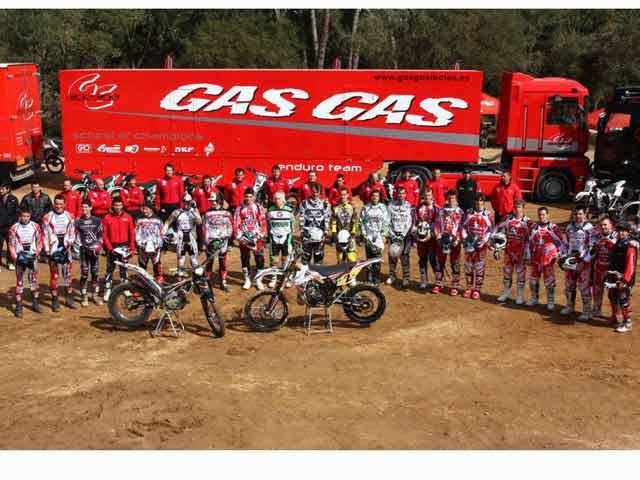 Gas Gas se ve afectada por el cierre de Yamaha España