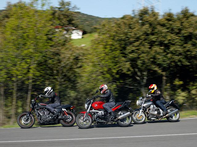 Harley-Davidson XR1200X y Moto Guzzi Breva 1200