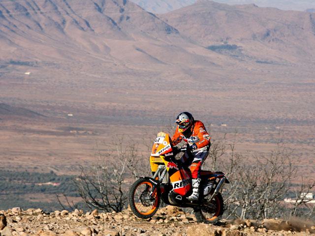 Coma repite triunfo de etapa en el Lisboa Dakar