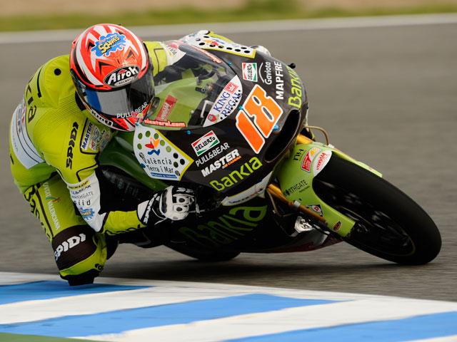 Nico Terol domina en los libres de 125 cc