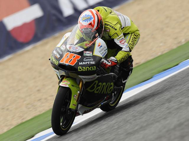 Terol se impone en todos los entrenamientos libres de 125 cc