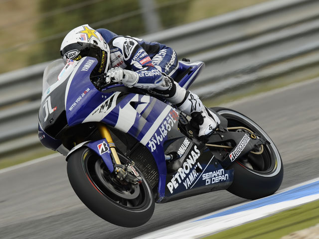 Lorenzo logra su cuarta «pole» consecutiva en Estoril.