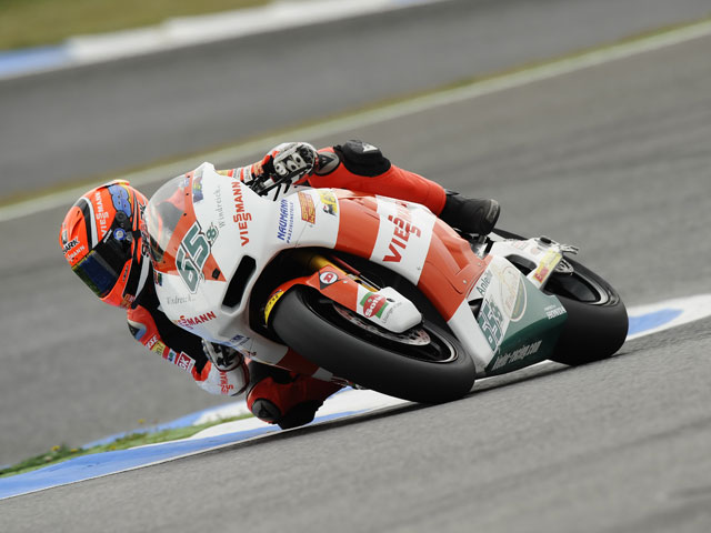 Bradl logra el mejor tiempo en los cronometrados de Moto2