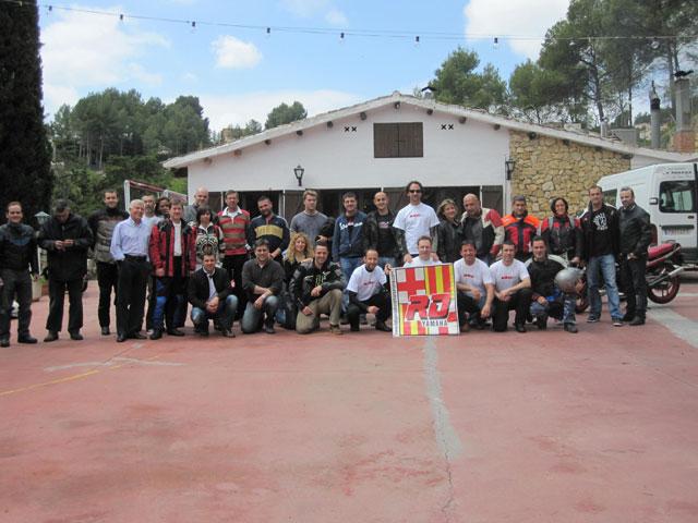 VII Aniversario del Club Yamaha RD Barcelona