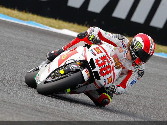Simoncelli no correrá en Superbike