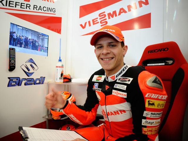 Mejor tiempo para Stefan Bradl en los primeros libres de Moto2
