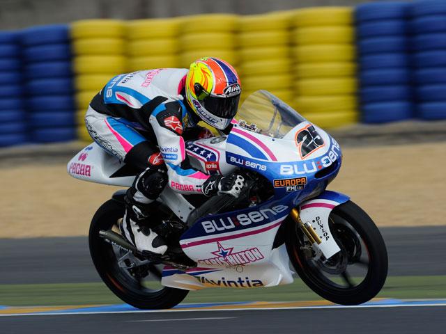Maverick Viñales gana la carrera de 125 cc