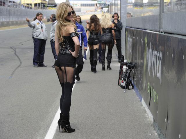Galería de fotos de las chicas del GP de Francia