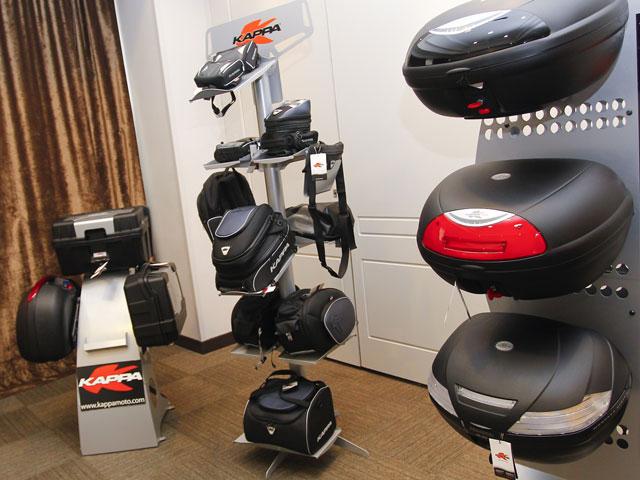 Kappa presenta sus novedades 2011 de accesorios para moto