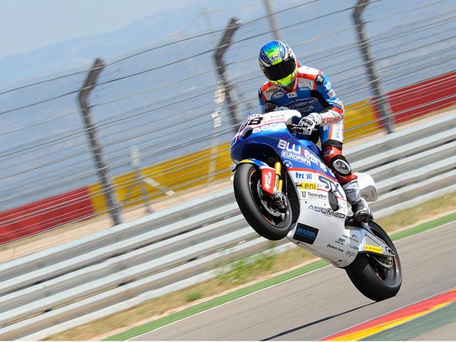Entrenamientos en Motorland de los equipos de Moto2 y 125