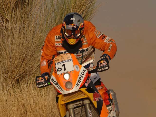 Segundo triunfo de Rodrigues en el Dakar