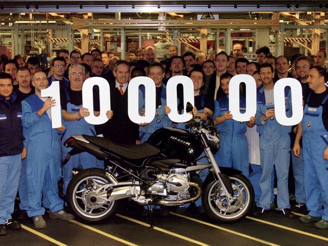 BMW Motorrad llega a 100.000 unidades