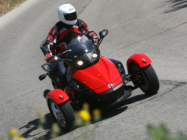 Can-Am Spyder 990 Secuencial