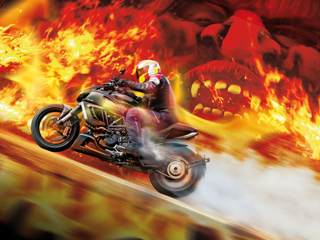 Ducati Diavel: satánica