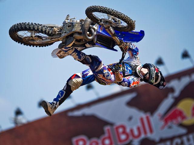Nate Adams gana el Red Bull X-Fifghters de Brasilia