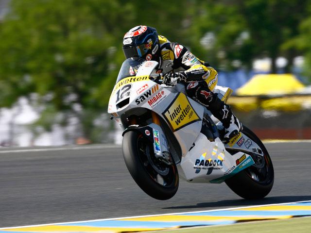 Thomas Luthi, mejor tiempo en Moto2