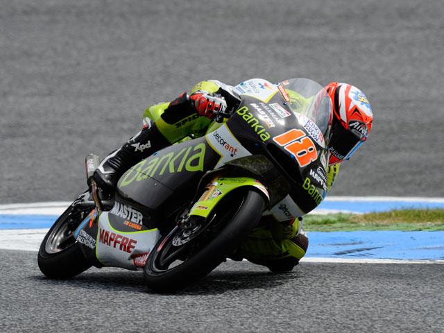 Nico Terol, el mejor de 125 cc el primer día