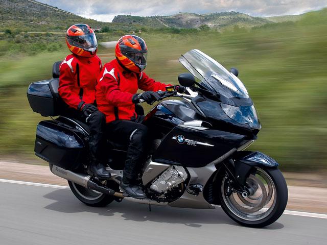 BMW K 1600 GLT y Gran Premio de Catalunya