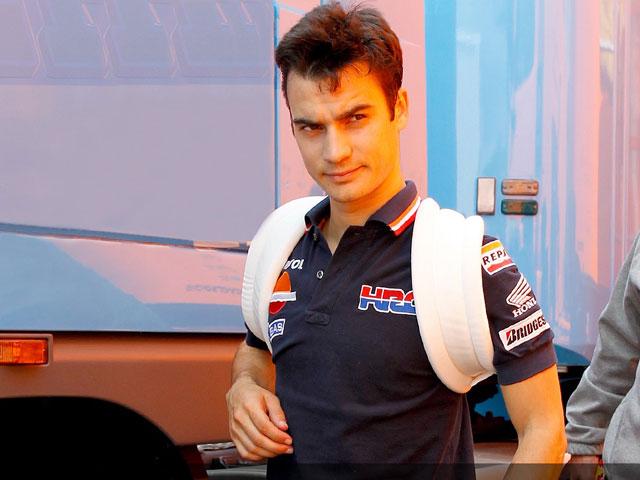 Dani Pedrosa no correrá en Silverstone