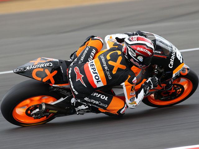 Marc Márquez, mejor tiempo en el último libre de Moto2