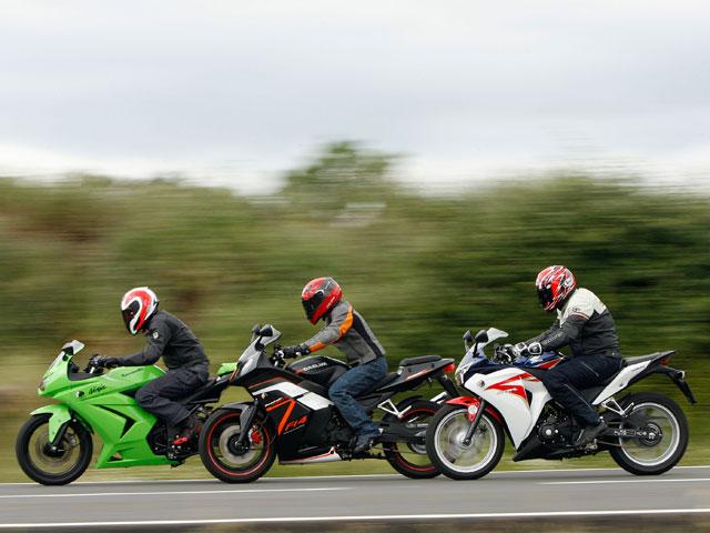 Comparativa deportivas 250 cc