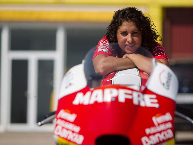 Elena Rosell será la primera mujer en el Mundial de Motociclismo