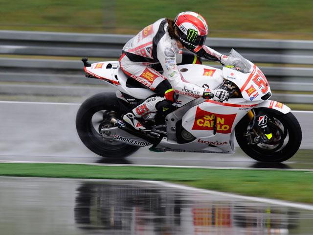 Simoncelli se impone en los libres del GP de Holanda
