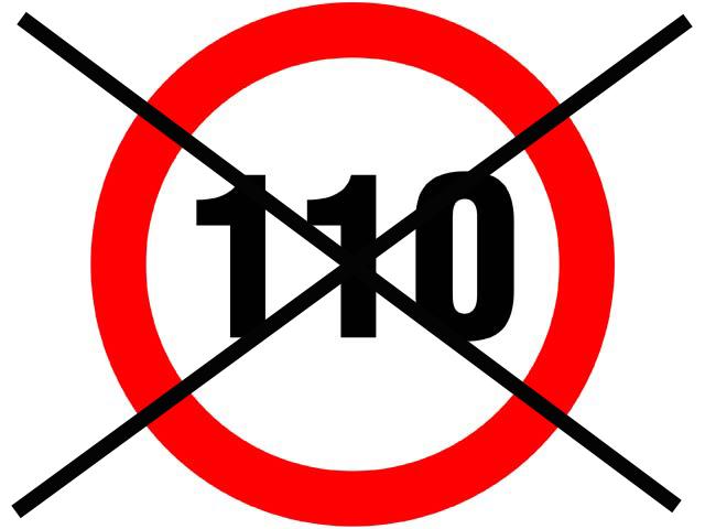 Vuelve el límite a los 120 km/h