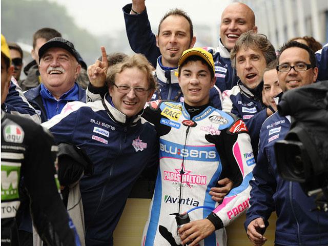 Las imágenes de moto2 y 125cc en el GP de Holanda (Assen)