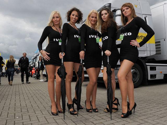 Galería de fotos de las chicas del Gran Premio de Holanda