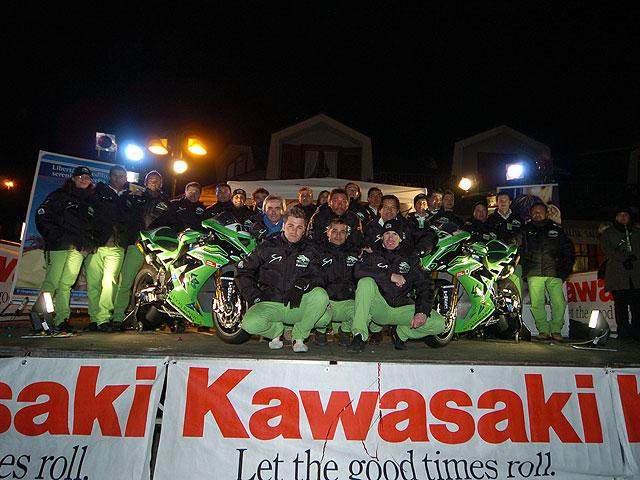 Presentación del Kawasaki PSG-1 de SBK