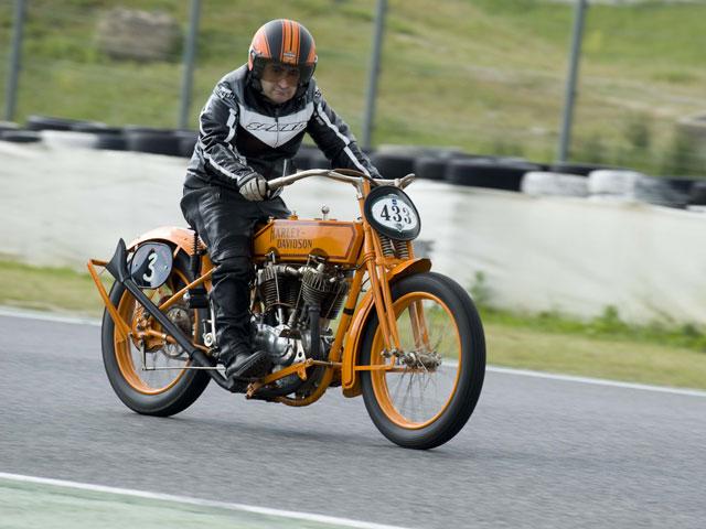 La Harley-Davidson Fast Roadster Cannonball de 1920, en Barcelona