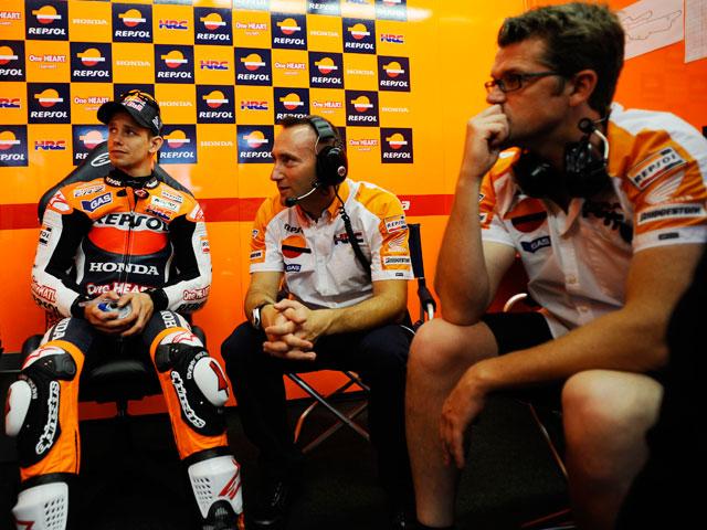 Stoner, Márquez y Zarco, pole position en Mugello