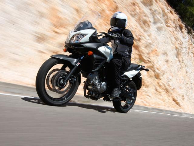 Prueba de la Suzuki V-Strom 650 ABS 2012