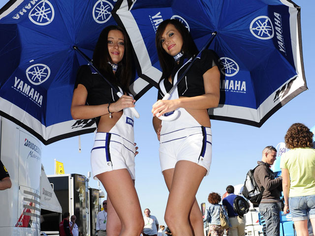 Las chicas del Gran Premio de Italia de MotoGP