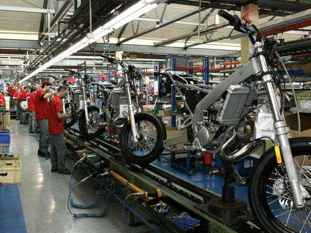 La fábrica de Derbi podría evitar el cierre