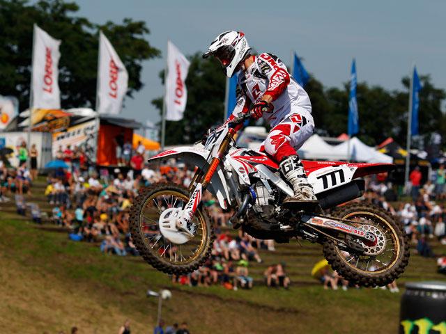 Primera de Evgeny Bobryshev en el Mundial de Motocross